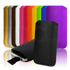 12 COLOUR PU LEATHER POUCH COVER CASE SLEEVE FOR APPLE iPOD TOUCH 5 5G 5TH GEN
