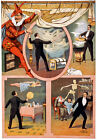 M61 Vintage 1899 Mystery Magic Theatre Poster A1 A2 A3
