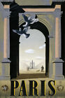 T97 Vintage French Paris Travel Poster Print A1 A2 A3