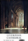 TT40 Vintage Liverpool Cathedral Railway Travel Poster Print A3 A2