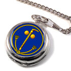 Tubal Cain (Two Ball and Cane) Masonic Full Hunter Pocket Watch