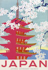 TT48 Vintage Japan Japanese Railway Classic Travel Poster Re-Print A4