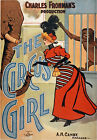 TZ3 Vintage The Circus Girl Theatre Poster Art Re-Print A4