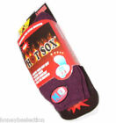 1 PAIR HOT SOX HOLDS HEAT THERMAL SOCKS EXTRA THICK LADIES MENS WALKING WINTER +