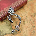 Dragon Golden New Lure Cuff Pewter Earring Party