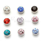 HOT 1 Pair 5mm Non Piercing Clip on Magnetic Magnet Ear Stud Unisex Earrings