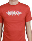 DUFFS boys cotton skate t-shirt - Gargoyle red