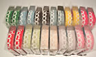 Lace Cotton Washi Tape 18mm x 2.6m Roll Decorative Sticky  Masking Adhesive
