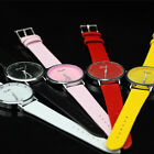 5 Colors Womens Ladies Brand New Leatheroid Quartz Movement Wrist Watch Watches