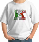 1/2 half MEXICAN IS BETTER THAN NOTHING KIDS T-SHIRT MEXICO nationality flag