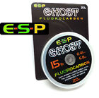 ESP *GHOST FLUOROCARBON* Hooklink Line for Carp & Coarse Fishing (ELGH/..)