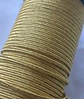 Gold Russia Braid, Mylar, Lace, Army, Military, Uniform, Costume, Fancy, Braids