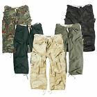 SURPLUS ENGINEER HERREN HOSE CARGO 3/4 SHORT SHORTS BERMUDA PANTS M65 CHINO