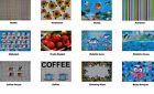 Set of 4 - Easy care PVC Placemats - 44cm x 28.5cm - 12 designs