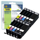 10 Compatible Canon CLI-551 / PGI-550 Ink Cartridges for Pixma Printers