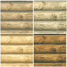 "Log Wallpaper SAMPLES 27"" x 14"", 4 color choices! FREE SHIPPING!"