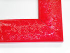 """2"""" Wild Apple Red Wood Picture Frame-Custom Made Panoramic Sizes"""