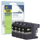 4 Compatible Brother LC127XLBK Black Ink Cartridges for DCP MFC Printers
