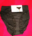 SALE 4 PAIR $4.50 EACH New Womens Underwear Black / Skintone Size 10,12,14,16