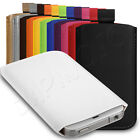 Deluxe PU Leather Custom Pouch Case Cover Skin Sleeve Fits Nokia Lumia 510 Phone