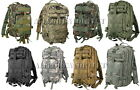 Military Style Level III Medium Transport MOLLE Assault Pack Bag Backpack NEW