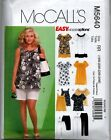 McCall's 5640 Easy Wardrobe Sewing Pattern Top Pants Dress Short Shirt Dress NEW