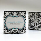 love bird chocolates - 100 Love Bird Damask Printed Favor Boxes Wedding Favors
