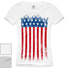USA T-Shirt flagge women united states america stars stripes of XS S M L XL XXL