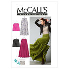McCall's 6608 Sewing Pattern to MAKE Stretch Knit Skirts Long or Short - Godets