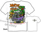 Mopar King Of HEMI'S Rat Fink T-shirt Big Daddy Tee Dodge Sz M L XL 2XL 3XL