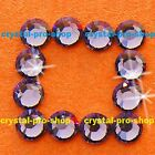 Tanzanite Iron On Flatback Hotfix Rhinestones Crystal Glass Gem Bling Diam​ante