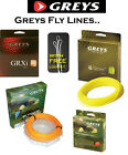GREYS FLY LINES - Best Fly Lines - All Densities - Includes 3x FREE Leader Loops