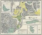 Historic City - TRUCKEE RIVER SYSTEM PLAN CALIFORNIA & NEVADA 1890
