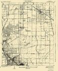 Historical Topographic Maps - CLEARWATER CALIFORNIA (CA) USGS 1925