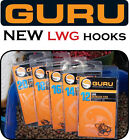 GURU LWG EYED BARBLESS HOOKS for Pellets, Meat, Corn & Feeder - Carp Fishing