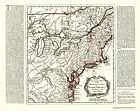 British Colonies On the River Ohio 1750 - 23 x 28.13