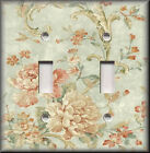 Light Switch Plate Cover - Shabby Decor - French Floral Spray - Chic Home Decor
