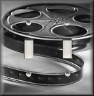 Light Switch Plate Cover -  Movie Room - Film Reel Black And White - Home Decor