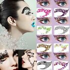 Gothic Sexy Temporary Eye Tattoo Stickers Party Fancy Eye Liner Shadow Makeup