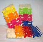 3 Pc Multi Color Jaw Claw Hair Claw Hair Accessory **ASSORTED COLORS**