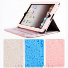 For The New Apple ipad 2/3/4 and ipad-mini PU Leather Smart Cover Stand Case