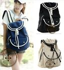 A+++ Fashion Cute School Bags Canvas Backpack Students Girls' Canvas Satchel Bag