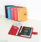 Mini Journey Ver.3 Passport Holder Case Cover Ticket Card ID Cute Wallet Travel