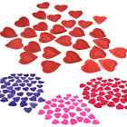 Decorations Wedding Confetti Rose Petals Heart 144 PCS Party Design Flower K0E1