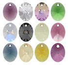 SWAROVSKI ELEMENTS 6028 XILION Oval Pendant - All Sizes & All Colours