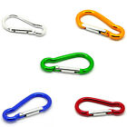5 PCs Carabiners Climbing Camp Keychains Clips Hooks 7cmx3.4cm M1459
