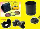ADAPTER +FILTER KIT+FLOWER HOOD+LENS CAP 62mm to CAMERA NIKON COOLPIX B500