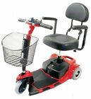 Zip'r Roo 3 Wheel Compact Mobility Scooter Transport Red Blue Small Lightweight