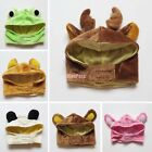S/ M/ L Pet Cat Dog Hood Halloween Costume Hat Cap Apparel Reindeer Frog Bunny