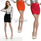 Hot Lady's Sexy Pleated Mini Skirt Slim Stretch Tight Fit 6 Candy Colors DZ88